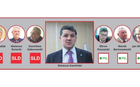 Czy burmistrz Mateusz Kamiński jest bezpartyjny, czy nie?