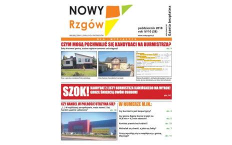 """""""Nowy Rzgów"""" - październik 2018"""
