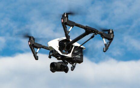 Kontrola dronami w Rzgowie